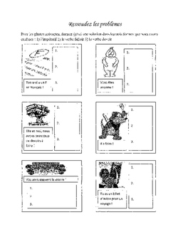 French handout Devoir, Falloir, and Command Tense