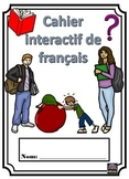 French interactive notebook - cahier interactif