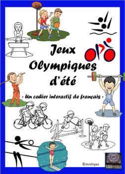 French interactive notebook – cahier interactif – Jeux Oly