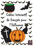 French - l'Halloween - cahier interactif - interactive not