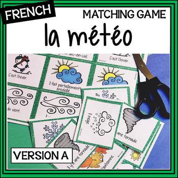 French – la météo et les saisons – Weather and Seasons – m