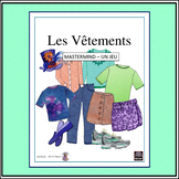 "French – les vêtements/clothing and ""Classroom Mastermind"""
