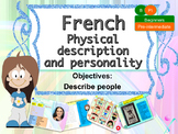 French physical and character description PPT for beginners