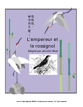 "French play ""L'empereur et le rossignol"" with activities"