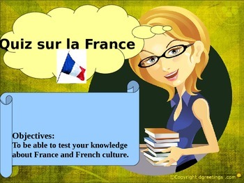 French quiz freebie for beginners