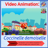 French Immersion - song in video animation - Coccinelle de