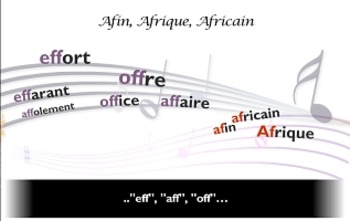 """French spelling and grammar in songs : Orthochanson """"afin,"""
