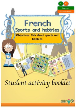 French sports and hobbies booklet for beginners