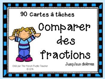Jeu de math : Comparer des fractions