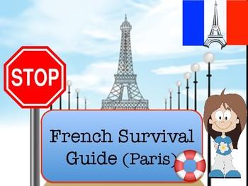 French travel survival guide, le guide de survie pour le voyage