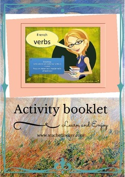 French verbs and irregular verbs booklet intermediate/advanced