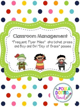 """Frequent Flyer Miles"" Classroom Tickets Explanations and"
