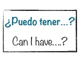 Frequent saying signs (Spanish)