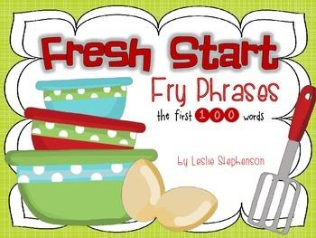 Fresh Start Fry Phrases