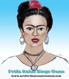 Frida Kahlo Bingo Game