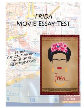Frida Kahlo Essay Test