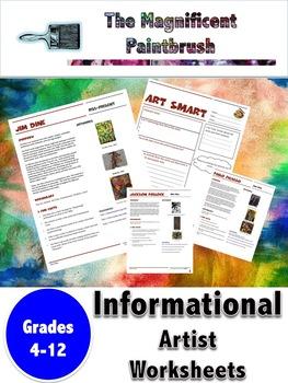Frida Kahlo Informational Worksheet