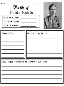 Frida Kahlo Organizers