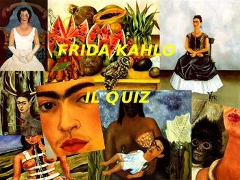 Frida Kahlo gioco interattivo in power point per bambini,