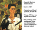 Art- Frida Khalo Still Life Middle School Art