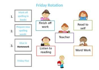 Friday Rotation Poster