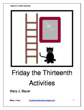 Friday the Thirteenth Activities