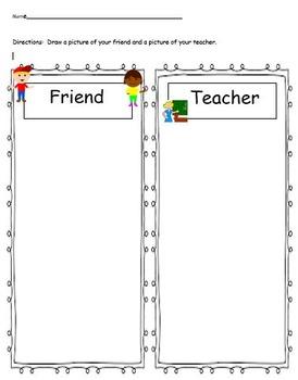 Friend - Teacher worksheet