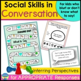 Conversation and Social Skills: Perspective Taking and Res