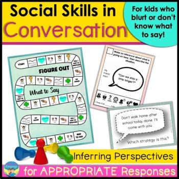 Conversational Follow-ups Game-Social Skills- Speech, Coun