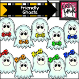 Friendly Ghosts Clip Art