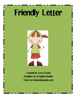 Friendly Letter Activity