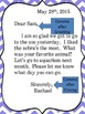 Friendly Letter Anchor Chart Posters