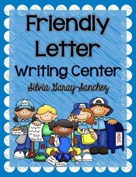 Friendly Letter Writing Center Task Cards