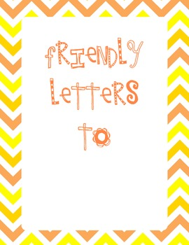 Friendly Letters Pack