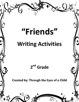 """Friends"" Creative Writing and Organizer"