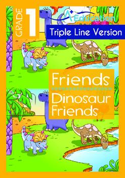 Friends - Dinosaur Friends - Grade 1 (with 'Triple-Track W