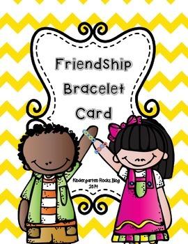 Friendship Bracelet Card