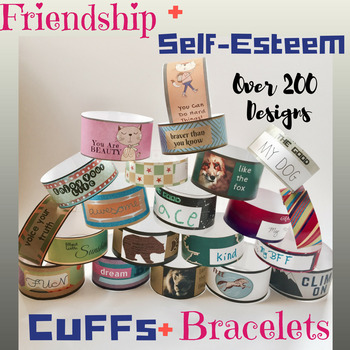 Friendship Bracelets & Self-Esteem Cuffs: Positive Affirma