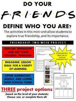 Friendship Exploration (activities, resources, projects, a