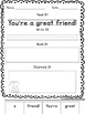 Friendship Sentence Builders {morning work, word work, dai