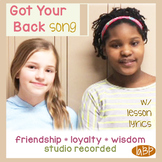 Friendship Song - team building, loyalty - with lesson, lyrics