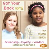 Friendship Song - team building pop loyalty