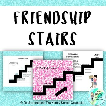 Friendship Stairs: Differentiating the Levels of Friendship