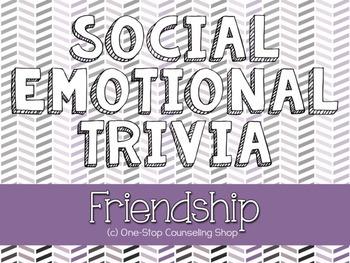 Friendship Trivia Game