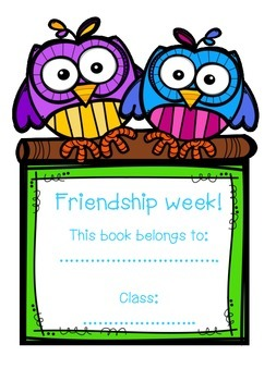 Friendship Week Booklet