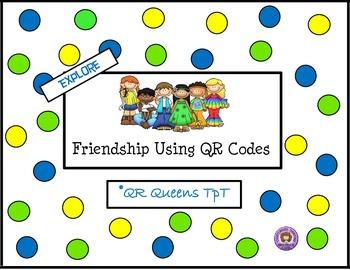 Friendship using QR Codes