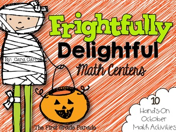Frightfully Delightful Math Centers {10 Hands-On October M