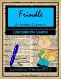 Andrew Clements FRINDLE - Discussion Cards