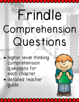 Frindle Comprehension Questions and Reading Guide