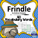 Frindle Vocabulary Detective